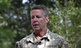 USAs øverste general i Afghanistan har overført kommandoen til de afghanske regjeringsstyrkene