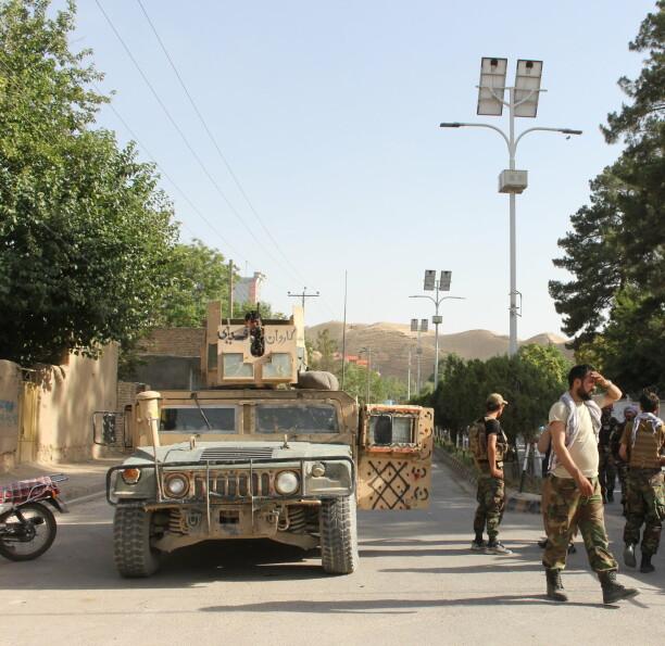 Turkmenistan sender våpen til grensen mot Afghanistan