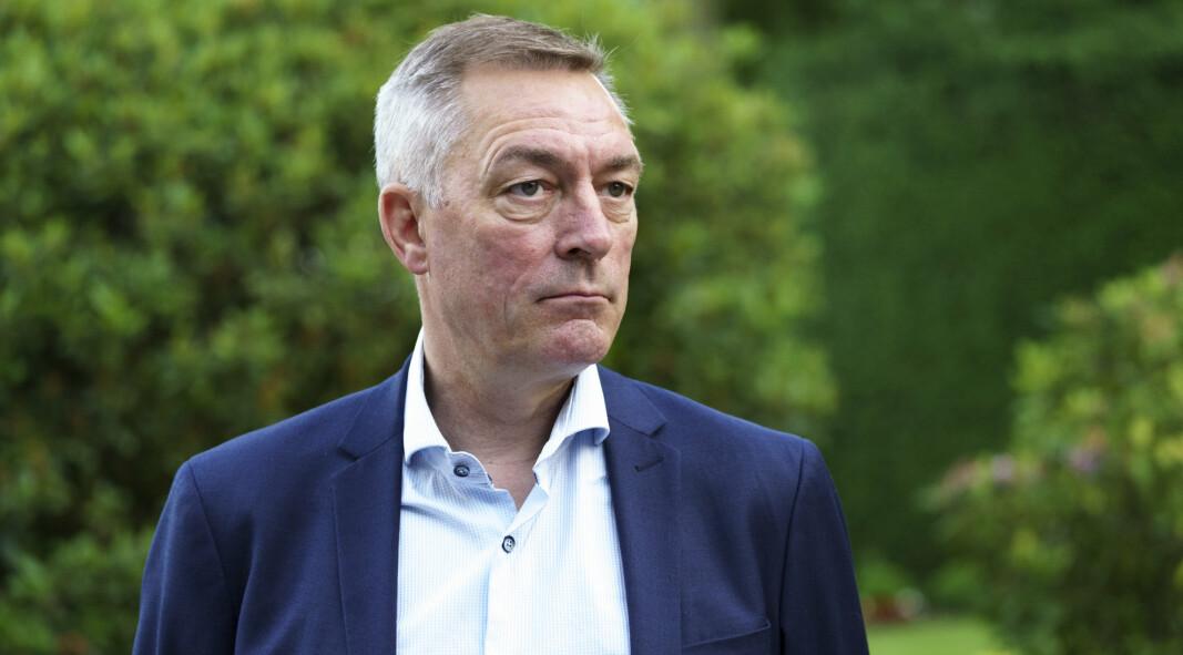 AVGJØRENDE: Forsvarsminister Frank Bakke-Jensen (H) understreker viktigheten av det norske bidraget på feltsykehuset i Kabul.