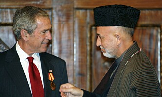 George W. Bush: – Sivile blir etterlatt for å bli slaktet