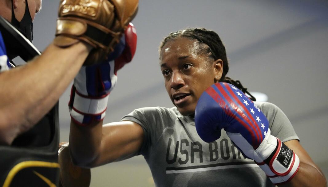 BOKSER: Oversersjant Naomi Graham er den høyest rangerte bokseren i USA i middelvektsklassen for kvinner.