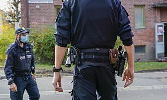 Midlertidig nasjonal bevæpning av politiet mellom 19. og 23. juli