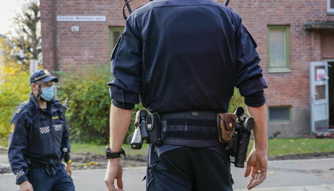 BEVÆPNET: Politiet skal være bevæpnet i forbindelse med 22.juli-markeringer og feiringen av den islamistiske høytiden Id al-adha. Politiets sikkerhetstjeneste vurderer fremdeles trusselbildet som «moderat».