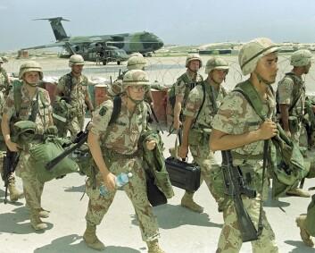 60 amerikanske soldater får medalje for innsatsen under slaget i Mogadishu