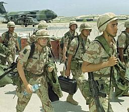60 soldater får medalje for innsatsen i Mogadishu