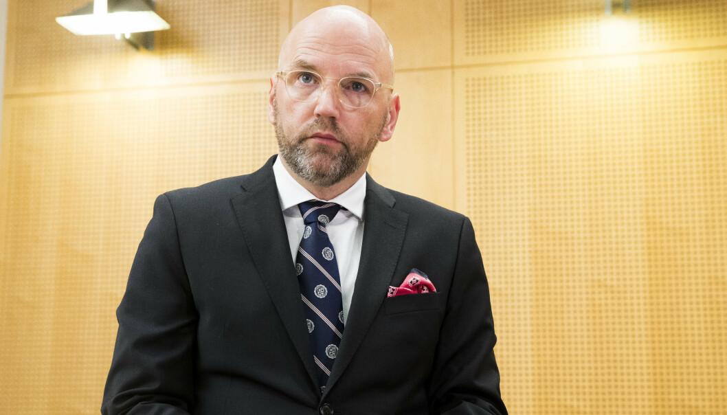 ANKER: Forsvarsadvokat Brynjar Meling sier den 25 år gamle terrordømte mannen anker dommen med en gang.