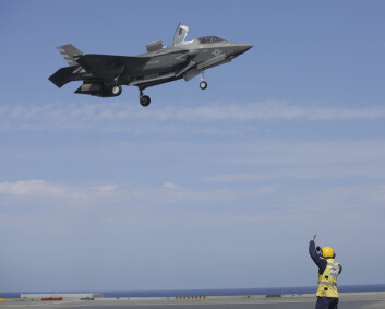 15 prosent av F-35 i det amerikanske luftforsvaret har motorfeil