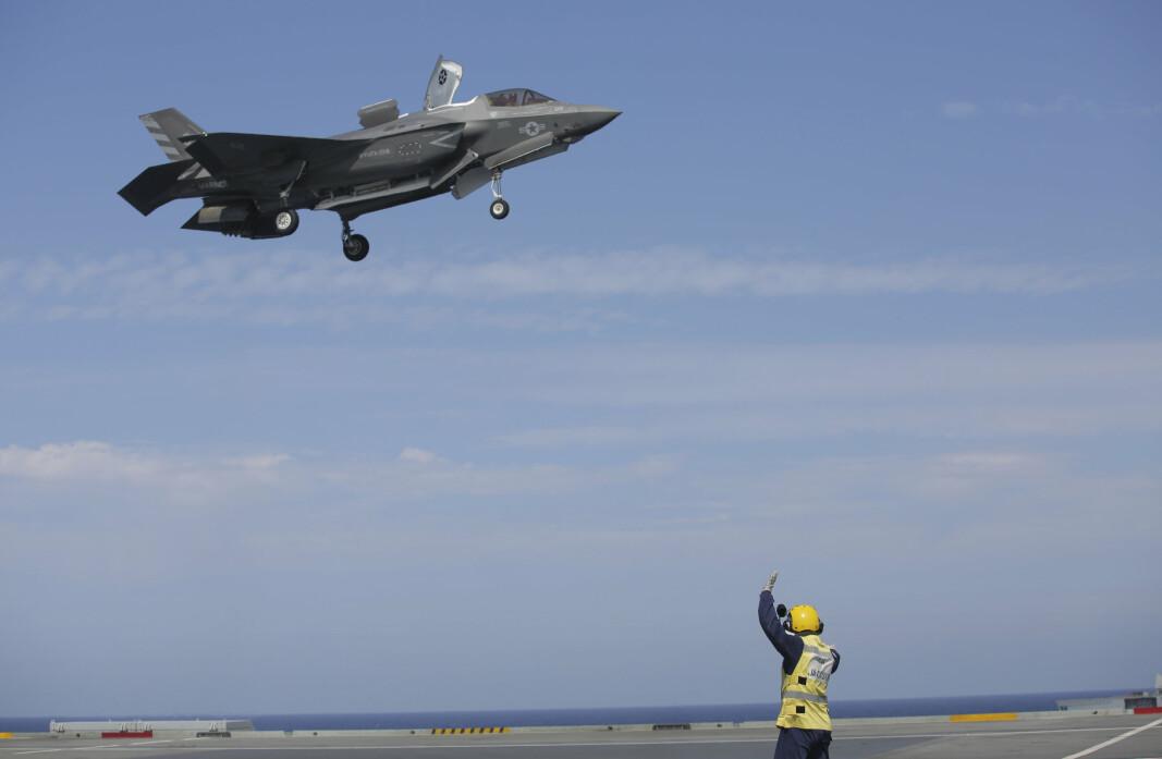 PROBLEMER: Det har vært problematikk rundt anskaffelsene av F-35 fly i USA. Jagerflyet på bildet tar av i forbindelse med øvelsen Steadfast Defender 2021.