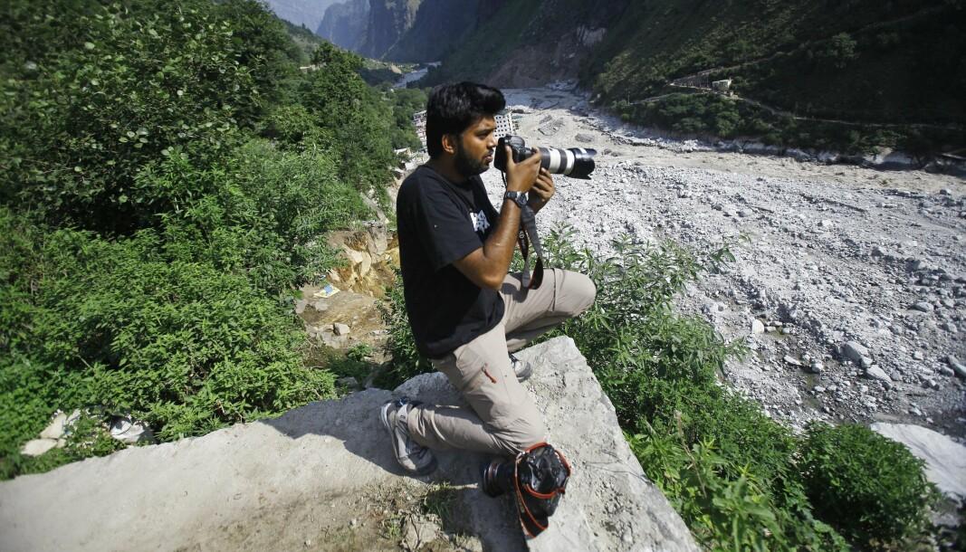 DREPT UNDER KAMPER: Den indiske Reuters-fotografen Danish Siddiqui ble drept under kamper mellom afghanske regjeringsstyrker og Taliban ved Spin Boldak-grenseovergangen mellom Afghanistan og Pakistan torsdag kveld.