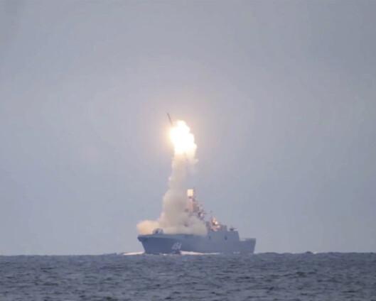 Russland testet hypersonisk kryssermissil