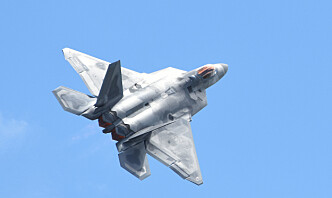 USA sender F-22 jagerfly til øvelse Pacific Iron 2021