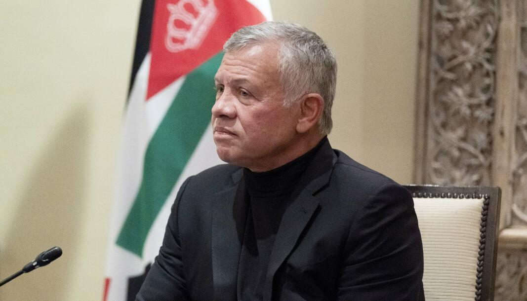 MØTER BIDEN: Mandag 19. juli møtes kong Abdullah II av Jordan og USAs president Joe Biden.