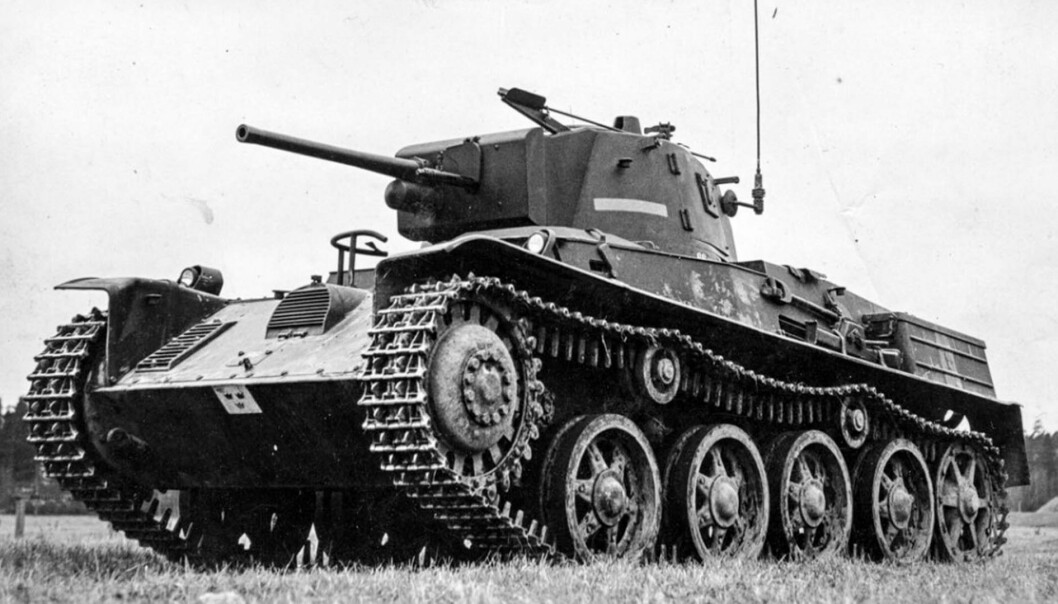 L60: 1939 Stridsvagn M/38.