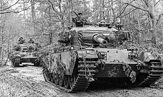 Försvarsmakten markerer 100 år med stridsvogner