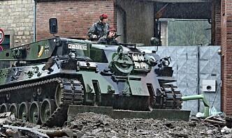 Slik bidrar det tyske forsvaret etter flomkatastrofen