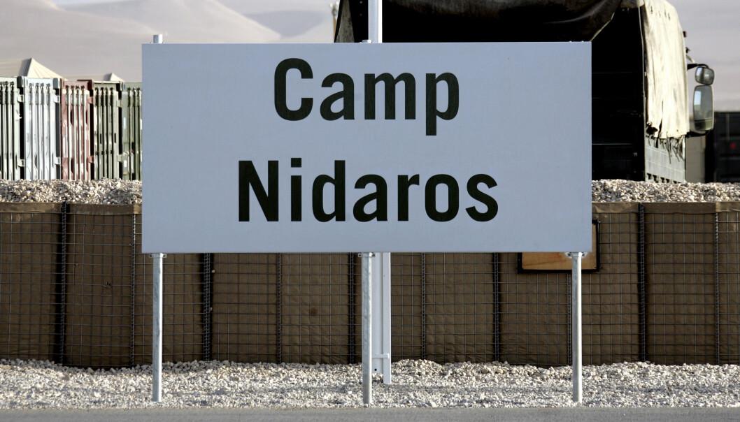 AFGHANISTAN: Flere lokalt ansatte afghanere jobbet for Norge i Camp Nidaros i Mazar-e Sharif.