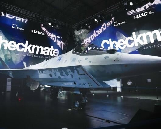 Russland avduket nytt kampfly
