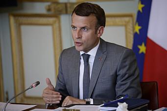 Frankrikes president mulig mål for spionverktøy