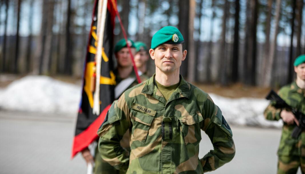 SJEF TMBN: Oberstløytnant Eskild Walnum overtok som sjef Telemark bataljon i mai 2020.