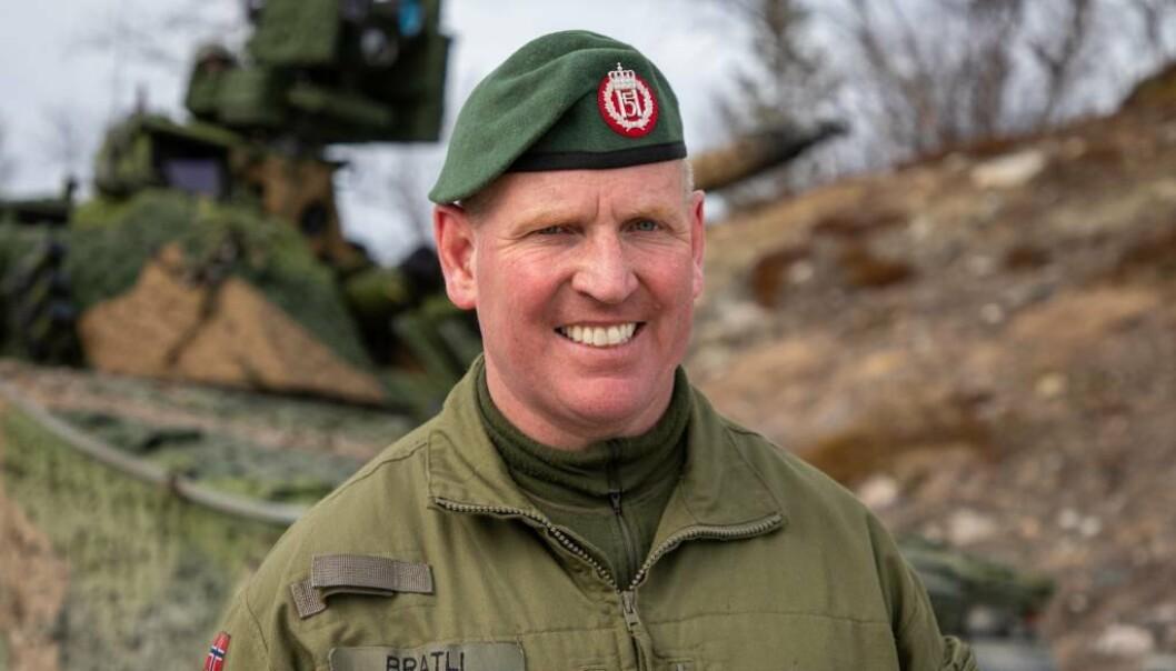 BATALJONSSJEF: Oberstløytnant Ronny Bratli er kjent for å ha gjenskapt flukten til Jan Baalsrud og Operasjon Muskedunder på NRK. Nå leder han oppbygningen av Porsanger bataljon.