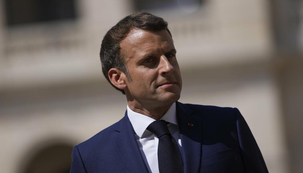 PEGASUS: Den franske presidenten er en av flere stats- og regjeringssjefer som kan ha blitt rammet av hackingangrepet fra Pegasus.
