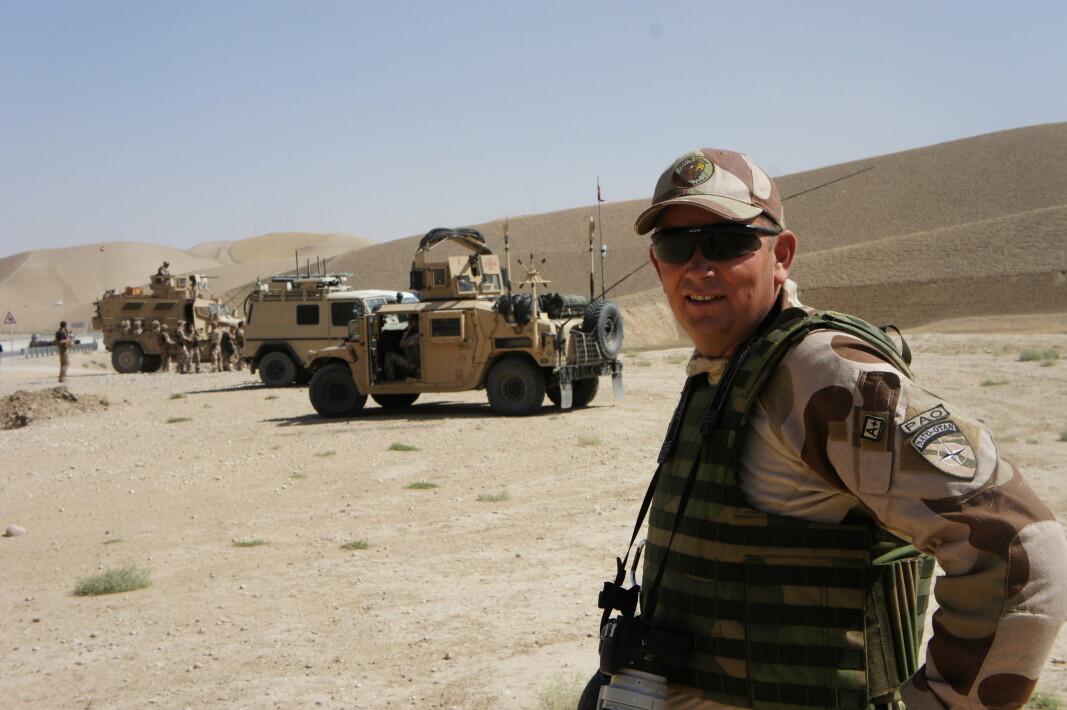 I FELT: Artikkelforfatteren var i tjeneste i Afghanistan da bomben smalt i Oslo 22. juli 2011.
