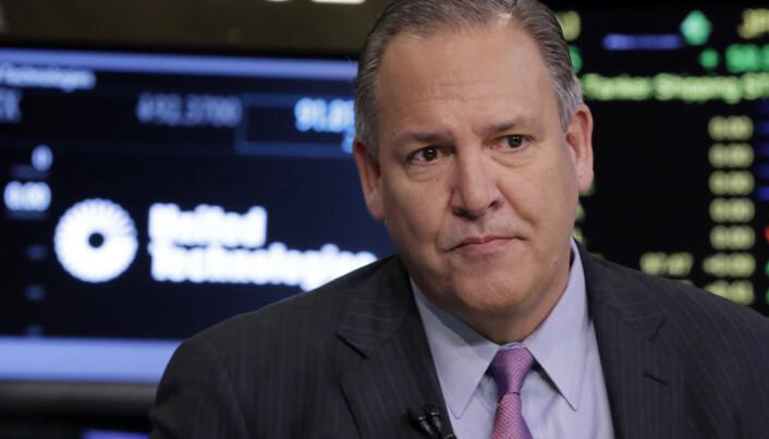 SPÅR: Raytheon-sjef Gregory Hayes spekulerer i våpenbransjens fremtid.