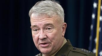 USA vil fortsette å støtte afghanske soldater med luftangrep