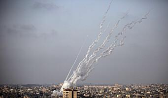 Israelske luftangrep mot Gazastripen