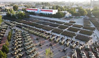 Tadsjikistan mobiliserer 230.000 soldater av frykt for Taliban