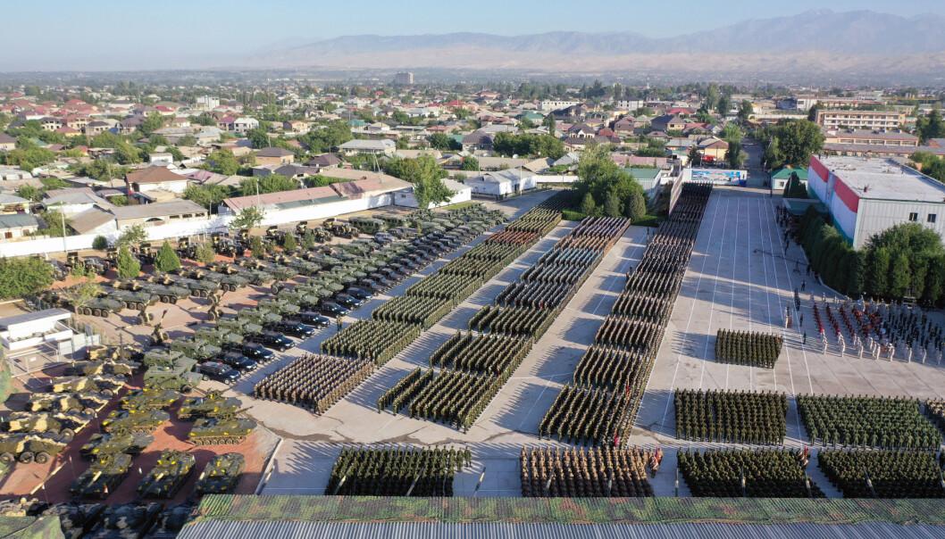 STOR MOBILISERING: 230.000 soldater har deltatt på øvelsen over hele landet.