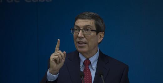 Cuba holder USA ansvarlig for brannbomber mot Cubas ambassade i Paris