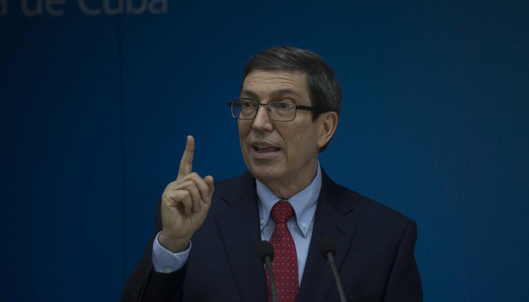 UTENRIKSMINISTER: Cubas utenriksminister Bruno Rodriguez.