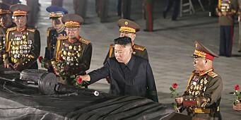 Kim markerte «seieren» i Korea-krigen