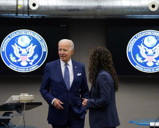 Biden anklager Russland for innblanding i neste års kongressvalg
