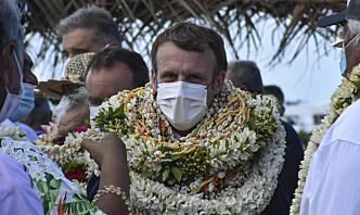 Macron: – Frankrike «står i gjeld» til Fransk Polynesia