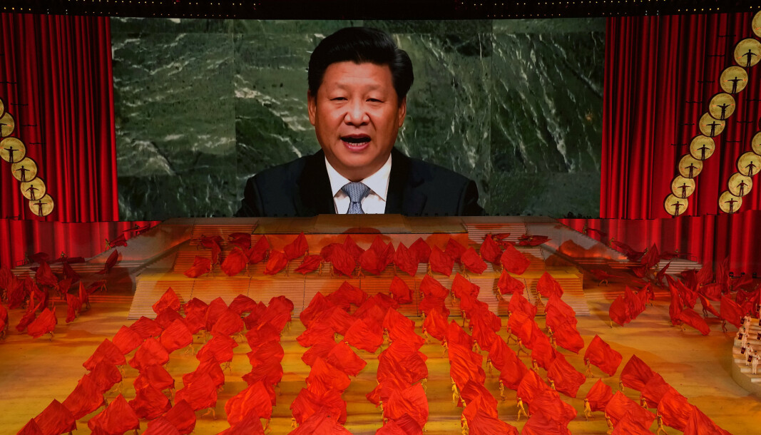 FORHANDLER IKKE: President Xi Jinping ønsker ikke å slutte seg til internasjonale forhandlinger om rustningskontroll, men har sagt at landet aldri vil sette i verk et førstelagsangrep med atomvåpen.