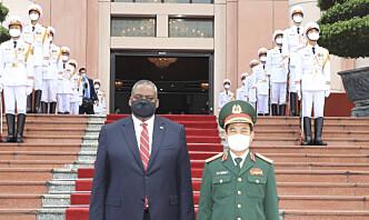 USAs forsvarsminister diskuterte Kina med Vietnam