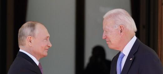 USA og Russland møttes for å stabilisere forholdet