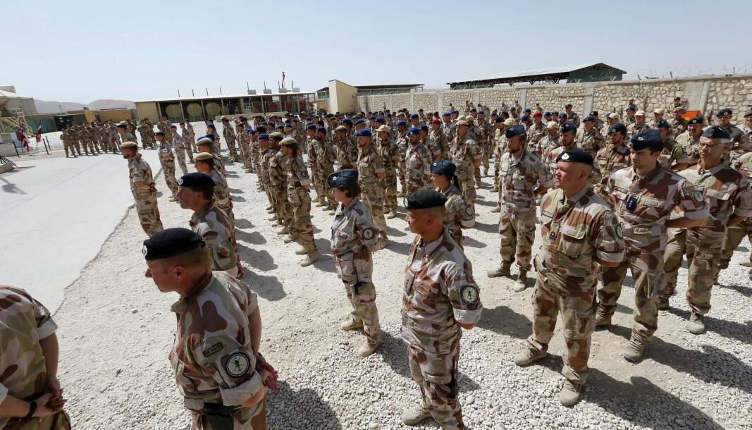 DELTAR IKKE: Norske soldater har deltatt i Afghanistan siden 2001. Norge skal derimot ikke delta på opptreningen av afghanske styrker i Tyrkia.