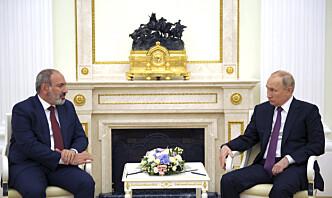Armenia ber Russland sende styrker til grensen mot Aserbajdsjan