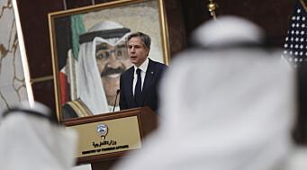 Blinken sier at atom-samtalene med Iran ikke kan pågå i det uendelige