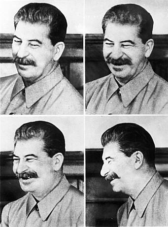 Josef Stalin fotografert i 1941.