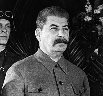 Josef Stalin fotografert i 1943