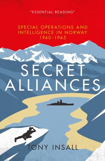Tony Insall har skrive sin andre bok om relasjonen mellom Noreg og Storbritannia.