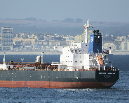 Storbritannia kaller Irans ambassadør inn på teppet etter skipsangrep