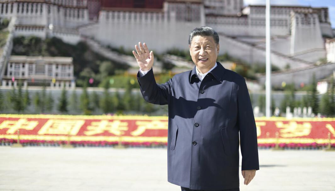 Kina har de siste årene gjennomført en enorm militær opprustning, skriver Hårek Elvenes. Her ser vi Kinas president Xi Jinping.