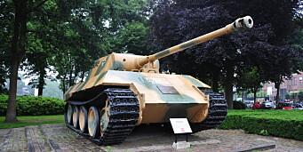 Stridsvogn fra 2. verdenskrig funnet i kjelleren til 84-åring