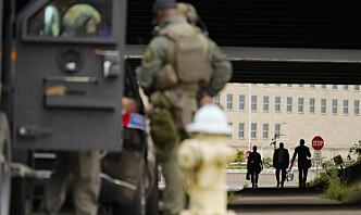Pentagon ble stengt etter knivangrep