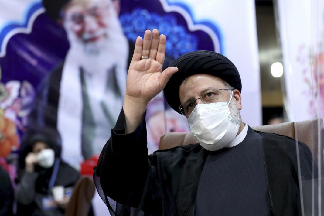 PRESIDENT: Iranske myndigheter advarer mot eventyrpolitikk etter påstander om at Iran står bak angrepene mot Mercer Street. Bildet viser den nyvalgte presidenten Ebrahim Raisi.